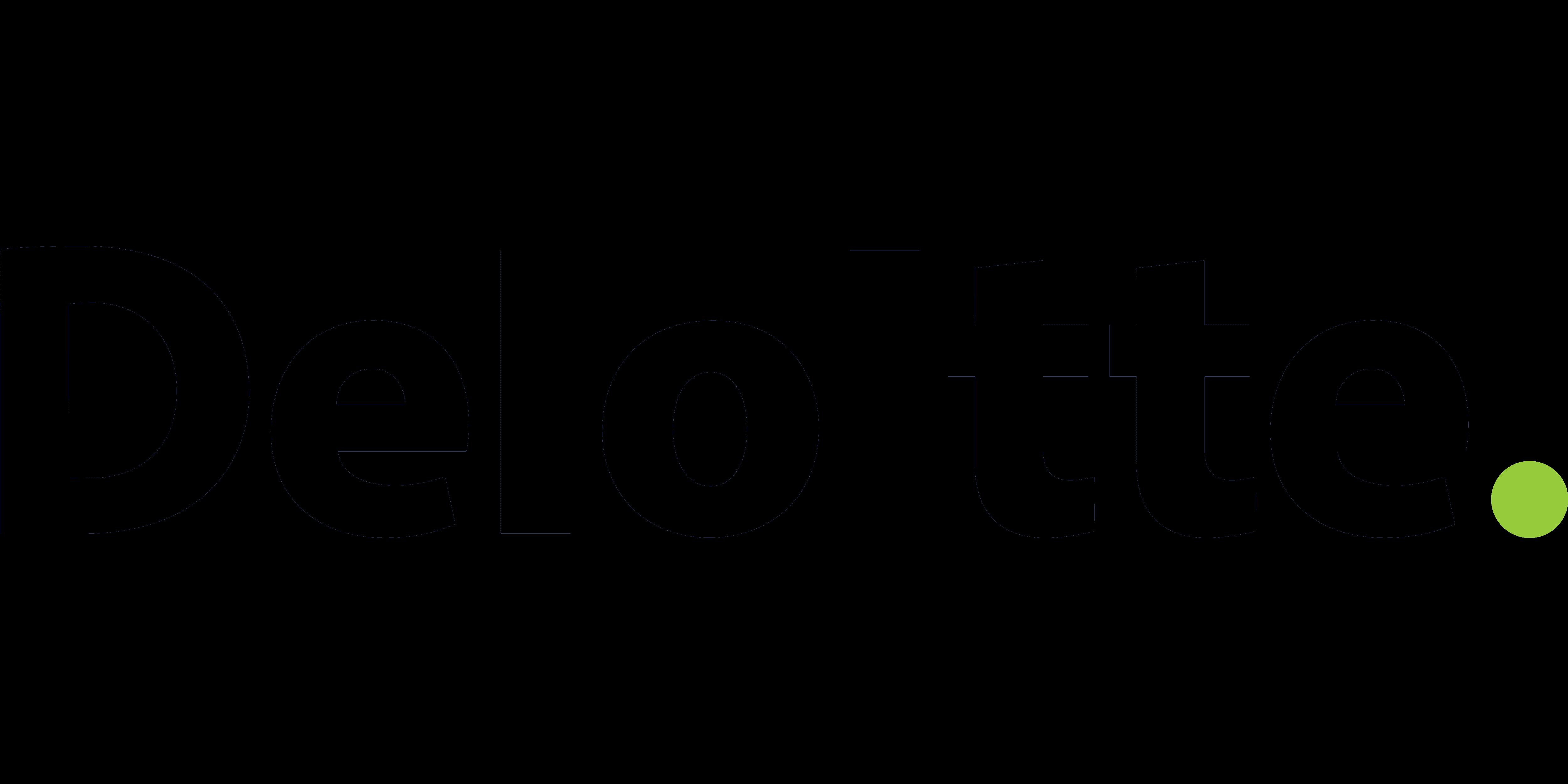 deloitte logo transparent png
